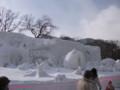 [札幌] 雪まつり2012  9丁目中雪像 今年も春がやってきた!