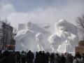 [札幌] 雪まつり2012 10丁目大雪像 トリコ×ワンピース