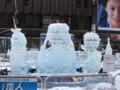 [札幌] 雪まつり2012 すすきの会場 氷ミク&リン・レン