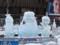 雪まつり2012 すすきの会場 氷ミク&リン・レン