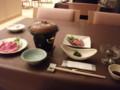 [森町][温泉][宿飯] 夕食・配膳済み