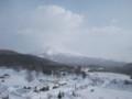 [森町][温泉] 朝の駒ヶ岳