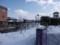 朝の大沼公園駅前