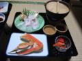 [豊富][温泉][宿飯] 夕食その1