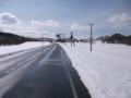 [幌延] 吹雪予報のはずが好天