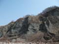 [小樽] 東側の岩肌