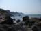 西側の海岸線(竜宮閣跡遠望)