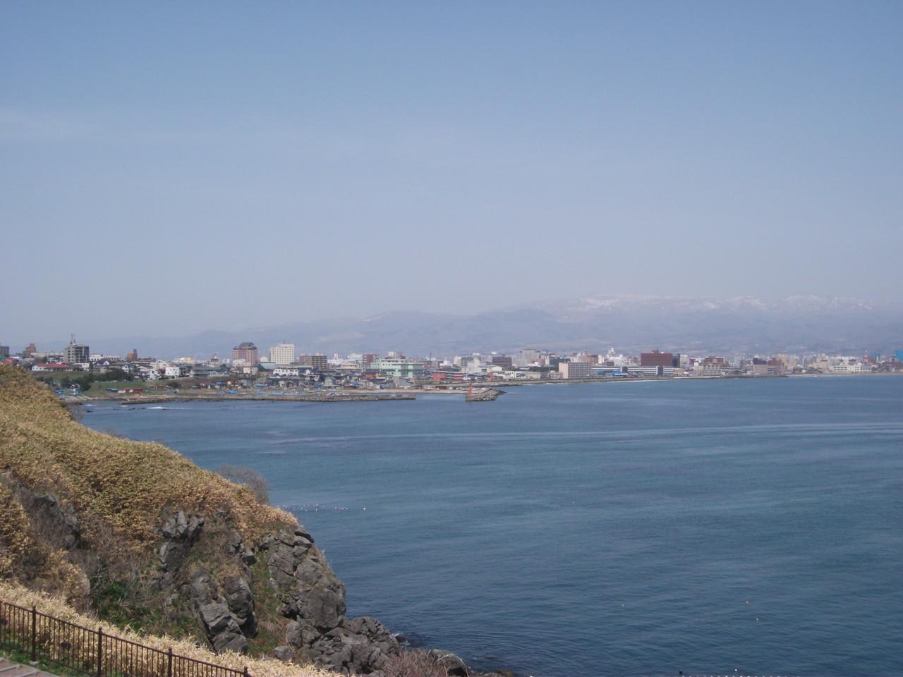立待岬からの函館市街