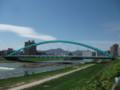 [札幌] 水穂大橋定点観測・雪解け水で増水の5月