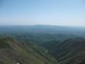[西興部][ウェンシリ岳] えぐられたような地形
