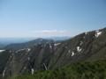 [西興部][ウェンシリ岳] 山頂直下ピークから大雪山系を望む その1