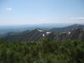 [西興部][ウェンシリ岳] 山頂直下ピークから大雪山系を望む その2