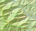[西興部][ウェンシリ岳] GPSトラック