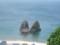 三本杉岩(のうち二本)@立象山展望台