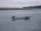 漁をする漁師