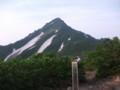 [利尻富士町][利尻山] 8合目 長官山山頂