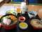 食堂さとう 海鮮丼(ムラサキウニ、バフンウニ、ソイ、ホタテ、イクラ