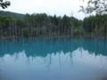 [美瑛] 青い池