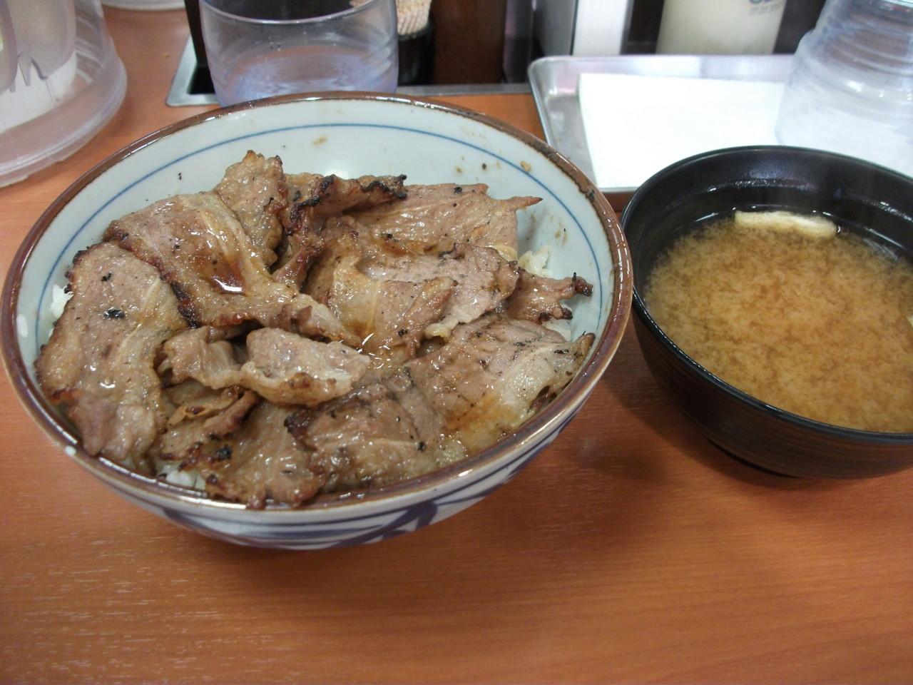 東京チカラめし 焼き牛丼