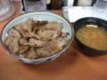 [東京][丼] 東京チカラめし 焼き牛丼