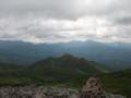 [新得][トムラウシ山] 前トムラウシ越しに望む東大雪の山々