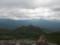 前トムラウシ越しに望む東大雪の山々