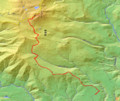 [新得][トムラウシ山] GPSトラック