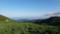 山塊ごしに見る根室海峡@知床峠