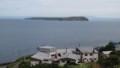 [羽幌][天売島] 天売港裏の高台から見る焼尻島