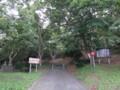[羽幌][焼尻島] オンコ原生林入口