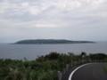 [羽幌][焼尻島] 鷹の巣園地そばから見る天売島