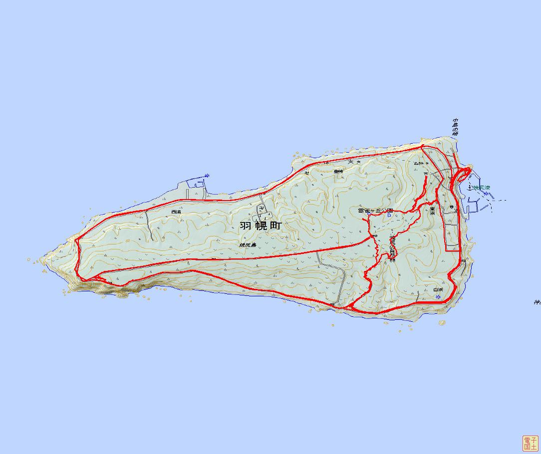 焼尻島ルート