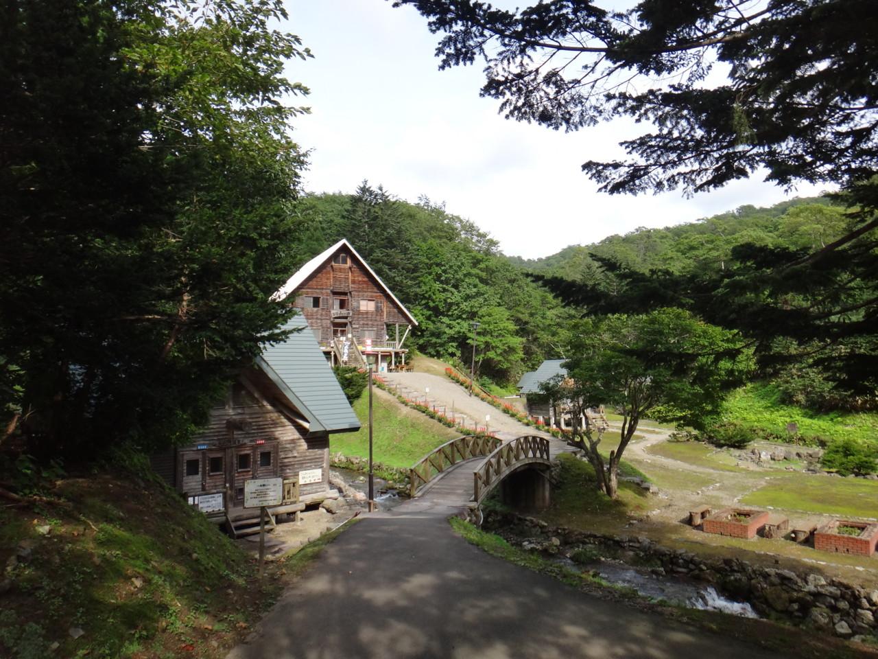 奥美利河温泉 山の家