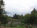 [千歳] 支笏湖が見えてくる