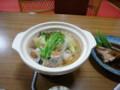 [伊達][温泉][宿飯] 夕食・あんこう鍋