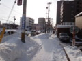 [札幌] 札幌市内のようす(11年ぶりの12月豪雪)