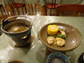 [上士幌][温泉][宿飯] 陶板焼き(寄せ鍋を全部うっかり食べてしまった)