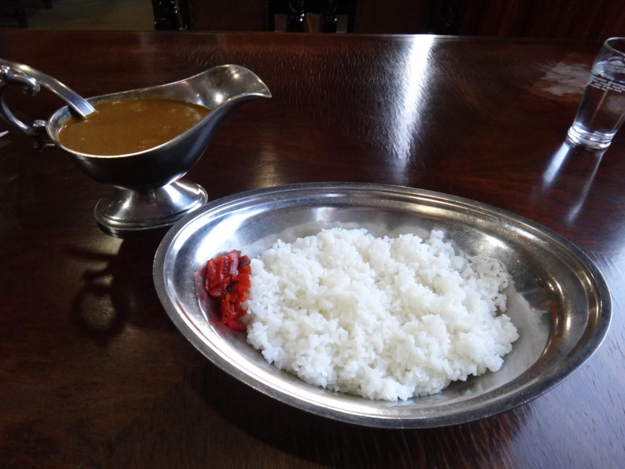 洋食のいし川 インド風カレー