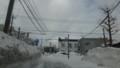 [札幌] 札幌市内@暴風雪一過