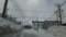 札幌市内@暴風雪一過
