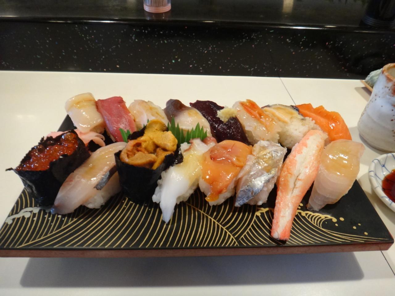 かねとも寿司 最特上寿司