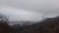 [函館][函館山] 薬師山から見えるロープウェイゴンドラ