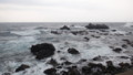 [松前] 白神岬の岩礁