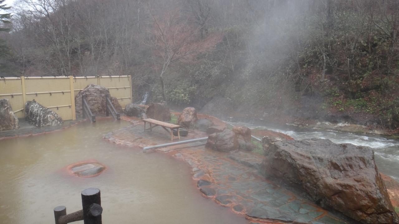 八雲温泉(鉛川温泉) おぼこ荘 露天