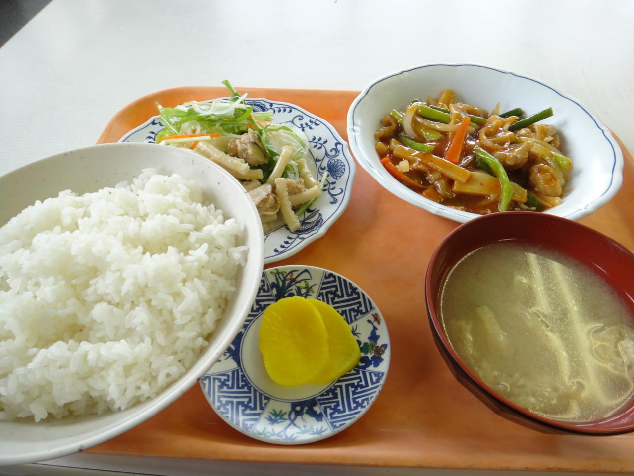札幌市交通局豊水すすきの駅食堂 B定食(大盛り)