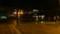 夜の岩見沢駅