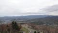 [札幌][藻岩山] 右側空沼岳~札幌岳、正面左恵庭岳、左側支笏湖周辺の山々