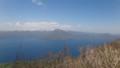 [千歳][風不死岳] 恵庭岳、奥に札幌岳や無意根山