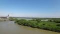 [江別] 千歳川・石狩川合流点@新江別橋