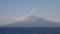 洋上から見る利尻富士